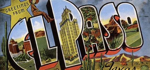 El Paso Postcard