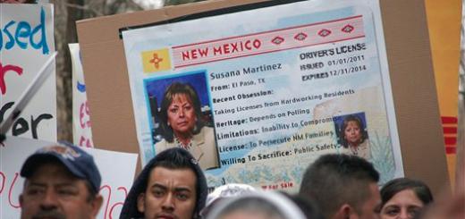 susana martinez lies about drivers licenses