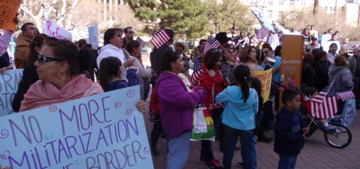 A demonstration in El Paso, Texas, on Feb. 2, 2013.