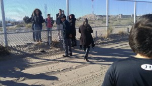 Familias en la frontera