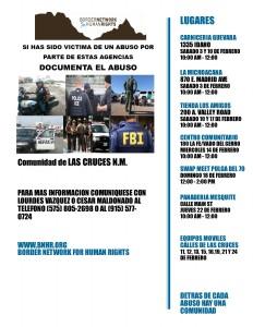 Poster abusos Lourdes Vazquez y Cesar Maldonado